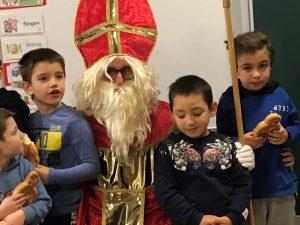 Der Nikolaus besuchte uns