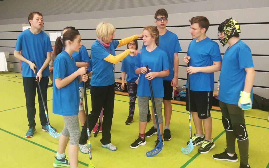 2.Floorballturnier von Special Olympics Saarland