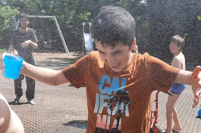 Sommerzeit – Zeit für Wasserschlachten